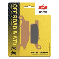 Front brake pads SBS Yamaha YFM 550 FGPW Grizzly Left 2009 - 2016 směs SI