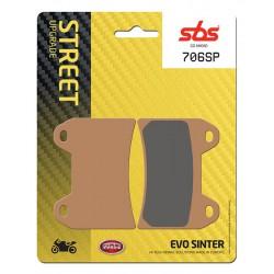 Front brake pads SBS KTM  1090 Super Adventure 2017 - 2019 směs SP