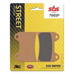 Front brake pads SBS Moto Guzzi  1200 Stelvio 8V SE 2012 - 2016 směs SP