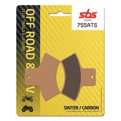 Rear brake pads SBS Polaris  325 Xpedition 2000 - 2001 type ATS