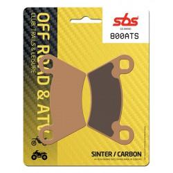 Rear brake pads SBS Polaris  700 Ranger 6x6 EFi 2012 - 2013 type ATS
