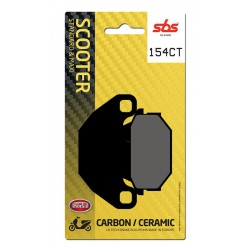 Rear brake pads SBS SYM  200 Joyride 2001 - 2008 type CT