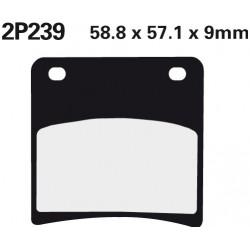 Front brake pads Nissin Suzuki GSX 400 F 1989 -  type NS