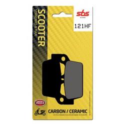 Rear brake pads SBS Honda NS-1 75  1992 - 2000 type HF
