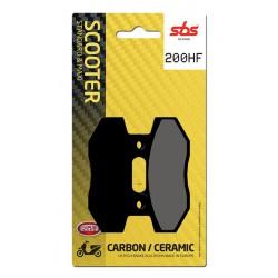Rear brake pads SBS Keeway RY8 50  2010 - 2016 type HF