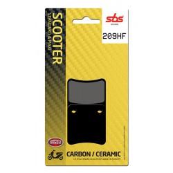 Rear brake pads SBS Aprilia SRV 850 (Parking Brake) 2012 - 2019 type HF