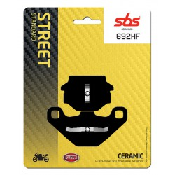Rear brake pads SBS Cagiva  600 W 16 1995 - 1997 type HF