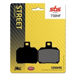 Rear brake pads SBS Laverda TTS 800  1999 type HF