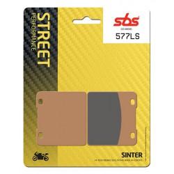 Rear brake pads SBS Suzuki GV 1400 Cavalcade LXE 1987 - 1990 type LS