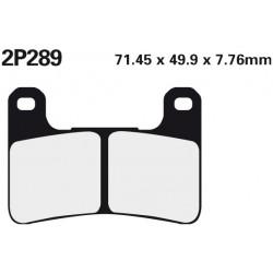 Front brake pads Nissin Suzuki GSX-R 1300 Hayabusa 2008 - 2012 type ST