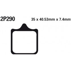Front brake pads Nissin Husqvarna SM 701 2015 -  type ST
