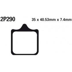 Front brake pads Nissin KTM 990 Super Duke R 2009 -  type ST