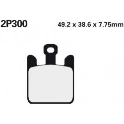 Front brake pads Nissin Kawasaki ZX-12R 1200 Ninja (Rad.cal) 2004 -  type ST