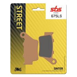 Rear brake pads SBS Aprilia NA 850 Mana 2007 type LS
