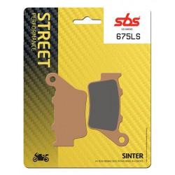 Rear brake pads SBS Triumph  660 Street Triple S A2 2017 - 2019 type LS