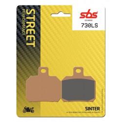 Rear brake pads SBS Derbi  659 Mulhacen Cafe 2008 type LS