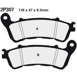 Front brake pads Nissin Honda VFR 1200 XDC Crosstourer w/DCT 2012 -  type ST