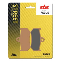 Rear brake pads SBS MV Agusta  990 Brutale R 2010 - 2011 type LS
