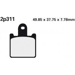 Front brake pads Nissin Suzuki 1300 B-King 2007 type ST