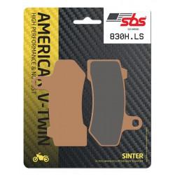 Rear brake pads SBS Harley-Davidson VRSCAW 1250 V-Rod 2008 - 2010 type LS