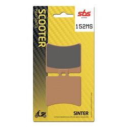 Rear brake pads SBS Aprilia  300 Scarabeo Special 2010 - 2011 type MS