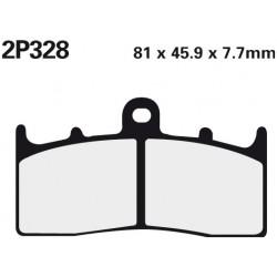 Front brake pads Nissin BMW K 1300 R Dynamic 2011 -  type ST