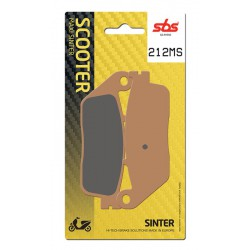 Rear brake pads SBS Kymco  500 Xciting i Evo ABS 2011 - 2013 type MS