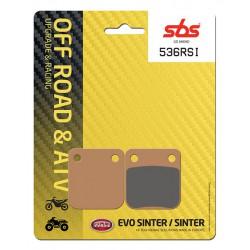 Rear brake pads SBS Kawasaki KX 65  2000 - 2019 type RSI