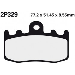 Front brake pads Nissin BMW K 1200 GT With Integral ABS 2002 - 2007 type ST