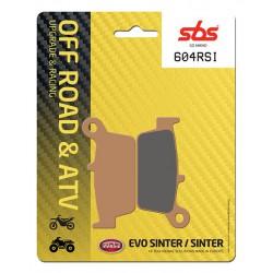 Rear brake pads SBS TM  400 F 2001 type RSI