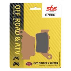 Rear brake pads SBS TM  400 F 2000 type RSI
