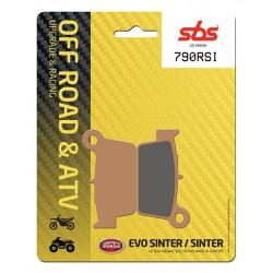 Rear brake pads SBS Aprilia MXV 450  2009 - 2013 type RSI