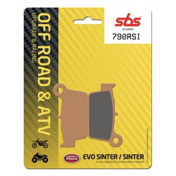 Rear brake pads SBS Sherco SM 450 4.5i Supermotard 2006 type RSI