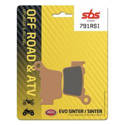 Rear brake pads SBS BMW G 450 SMR 2009 - 2010 type RSI