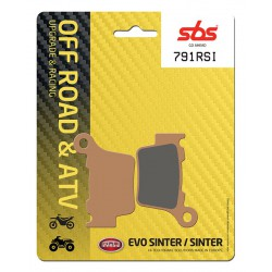 Rear brake pads SBS Husqvarna TC 449  2011 - 2013 type RSI