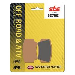 Rear brake pads SBS KTM SX 505 ATV 2008 - 2012 type RSI