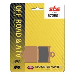 Rear brake pads SBS KTM SX 85  2011 type RSI