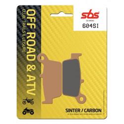Rear brake pads SBS TM  400 F Enduro 2001 type SI
