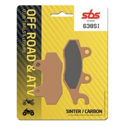 Rear brake pads SBS Arctic Cat  90 DVX 2006 - 2014 type SI