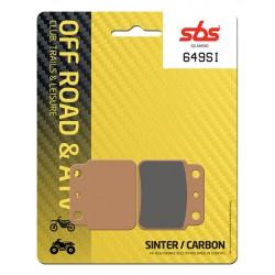 Rear brake pads SBS Hyosung TE 450  2007 - 2011 type SI
