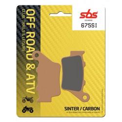 Rear brake pads SBS VOR EN 530  2002 - 2004 type SI