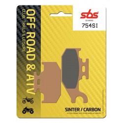 Rear brake pads SBS Bombardier DS 250 Left/Rear 2006 type SI