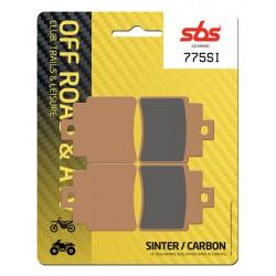 Rear brake pads SBS Arctic Cat  300 DVX 2009 - 2016 type SI