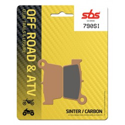 Rear brake pads SBS Beta RR 430  2015 - 2019 type SI