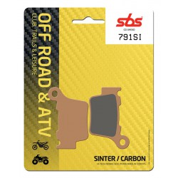 Rear brake pads SBS Sherco SE 450 iR 2012 - 2013 type SI