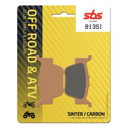 Rear brake pads SBS Honda TRX 680 FA6 Rincon 2006 - 2015 type SI