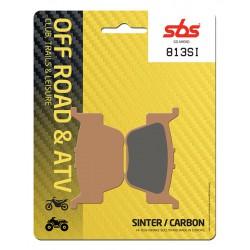 Rear brake pads SBS Honda TRX 680 FGA6 Rincon 2006 - 2015 type SI