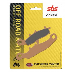 Front brake pads SBS Suzuki RM 85 , L 2005 - 2019 type RSI