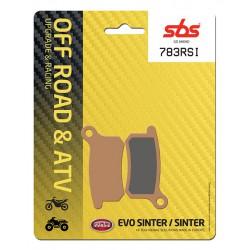 Front brake pads SBS KTM SX 65  2009 - 2019 type RSI