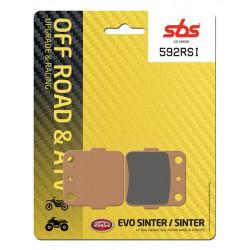 Rear brake pads SBS Kawasaki KX 85  2001 - 2019 type RSI